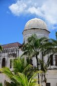 Architecture Of The Stone Town. Old Mosque. Stone Town Is The Oldest Part Of Zanzibar City Which Was poster
