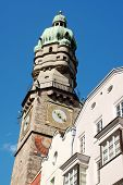 The Old Town Watch Tower Of Innsbruck