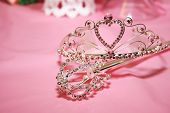 image of quinceanera  - Tiara used to crown a quinceanera on her special day - JPG