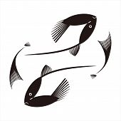 Fish Icon, Simple Icon. Vector Icon. Fish Icon With White Background. Fish Icon. Trendy And Modern I poster