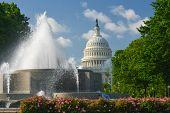 United States Capitol  - Washington DC United States of America poster