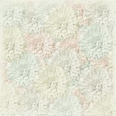 Soft Floral On White poster