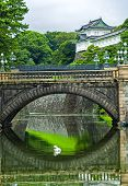 Tokyo Imperial Palace,  The Primary Residence Of The Emperor Of Japan, Is A Large Park-like Area Loc poster