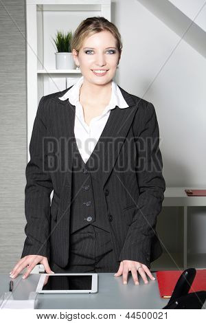 Successful Stylish Businesswoman