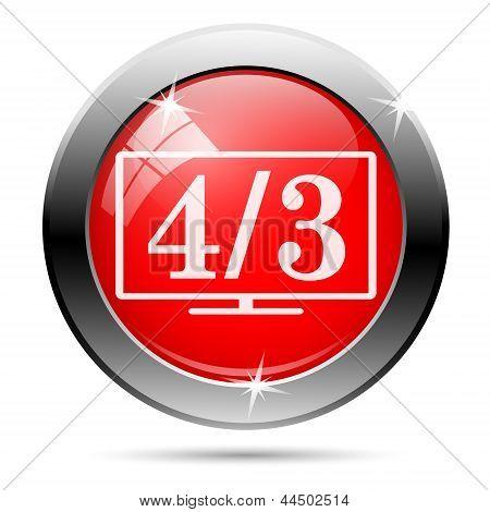 4/3 Icon