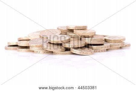 Pound Coin Pile