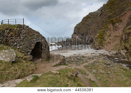 Heddon`s Mouth beach Exmoor National