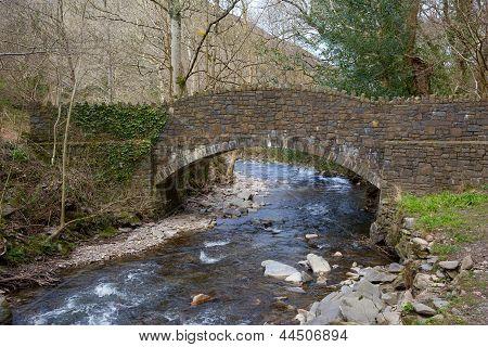 Bridge River Heddon Valley Exmoor