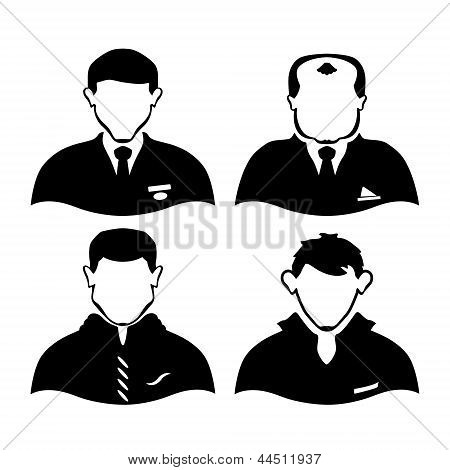 four men of different professions