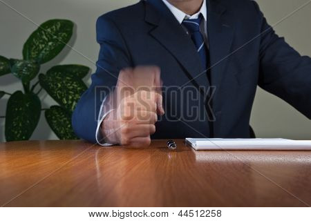 Fist On The Table