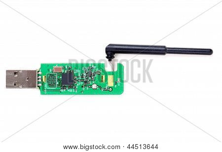 Bluetooth Module Isolated On White