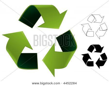 Recycle Symbol Illustration