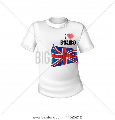 English T-shirt Design