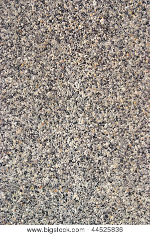 Wash Gravel Texture Pattern Background.