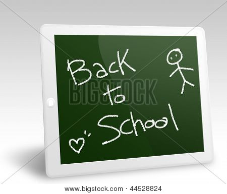 Back to school tablet