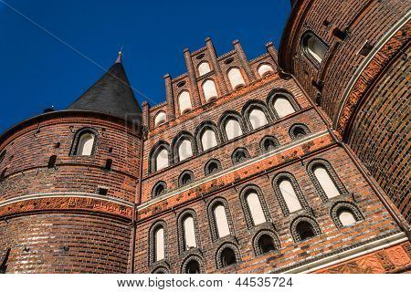 Holstentor Luebeck Detail