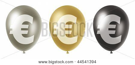 Euro Balloons Set