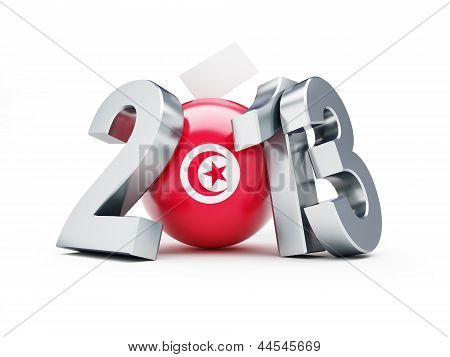 General Elections In Tunisia 2013