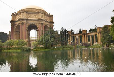 Palace Of Fine Arts Museum San Francisco California