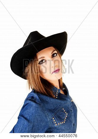 Woman With Hat.