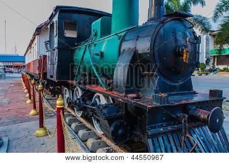 Ancient Train.