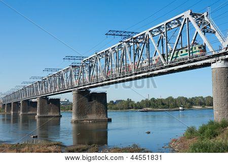Trans Siberian Railway Bridge