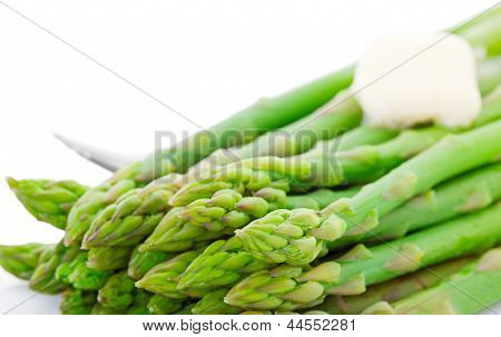 Cooked Asparagus With Butter