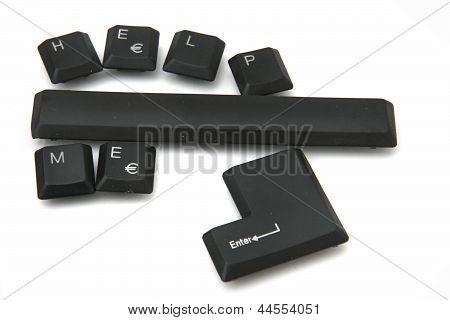 Help Me Keyboard Keys