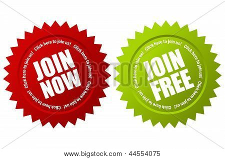 Vector join now label