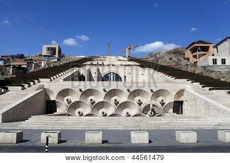View Of Cascade In Yerevan