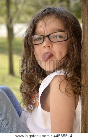 Jocelyn-tongue Out