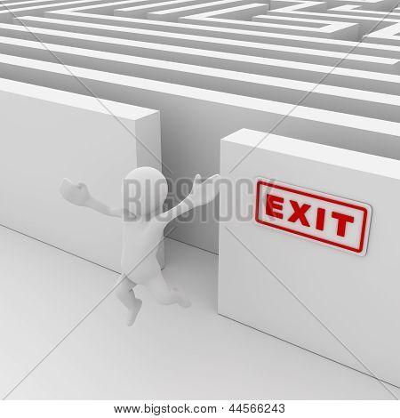 Exit The Maze