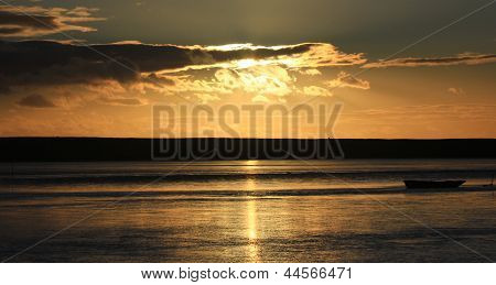 Sunset Beach Dorset