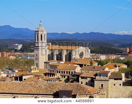 Cathedral In Girona