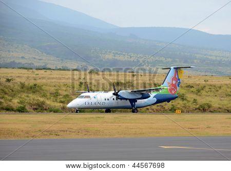 Island Air Regional Flight From Maui, Hawaii