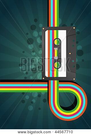Audiocassette Graphic