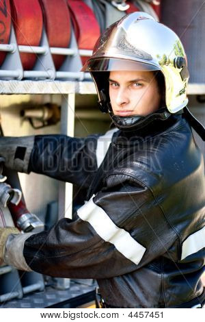 French Young Firefighter