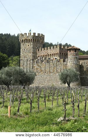 Castello di Amorosa Winery in Napa Valley