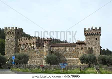Castello di Amorosa Winery in Napa Valley.