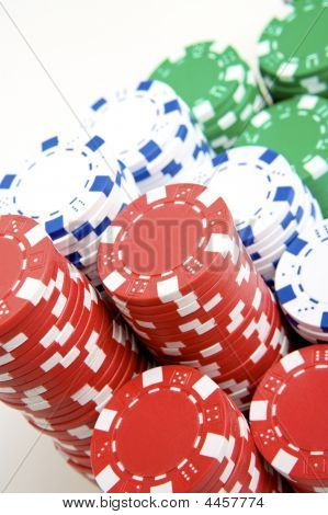 Pile Of Pokerchips