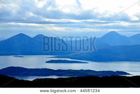 View from the Applecross peninsula, Scotland