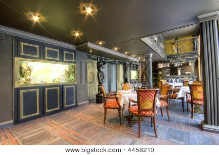 Luxurious Restaurant Interior