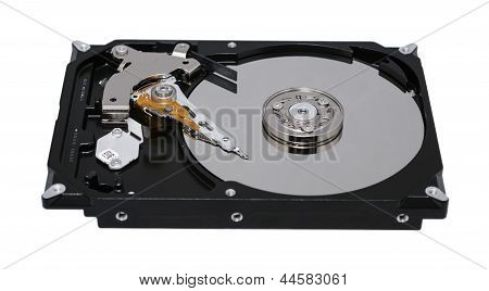 Hard Disk, It Is Isolated