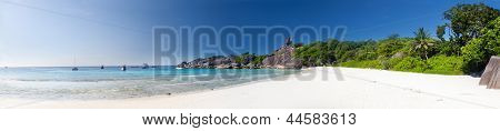 Panoramic view on a beach Similan islands Thailand