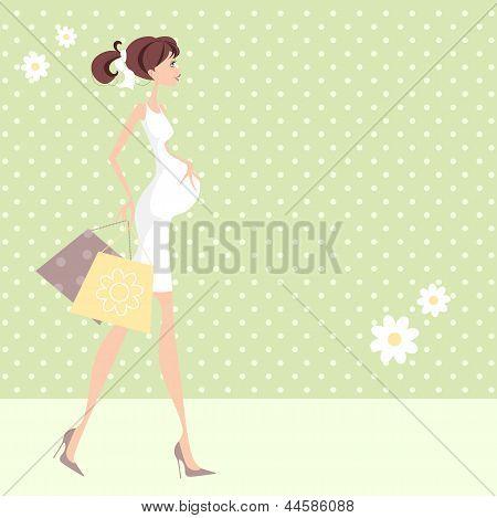 Pregnant Shopper