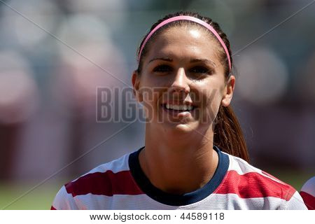 USA forward Alex Morgan