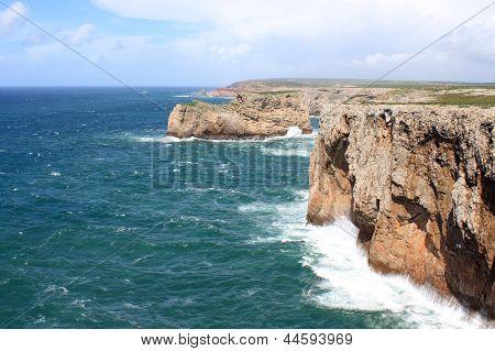 Cabo De Sao Vicente, Algarve, Portugal