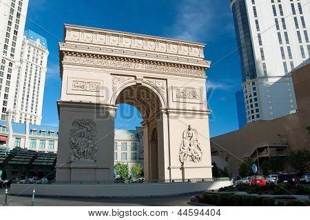 Triumph Arc On The Las Vegas Strip In Nevada