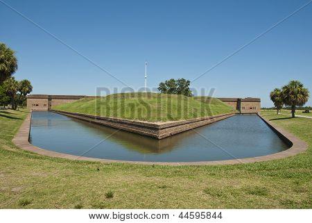 Fort Pulaski Demilune