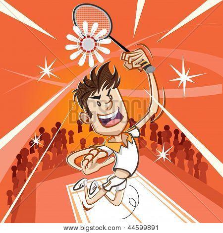 Male Badminton Player